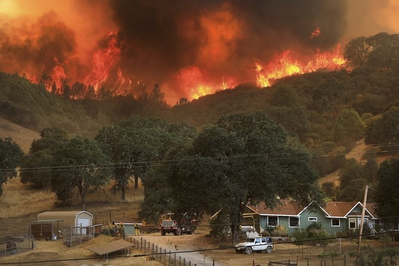 Image result for forest fires california 2018